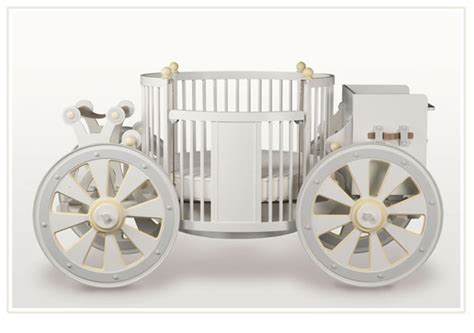Carriage Baby Cribs Princess Carriage Crib Featured At Babybox