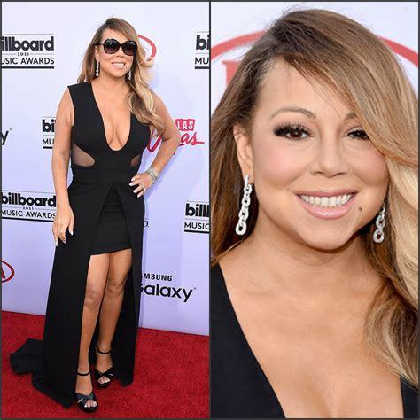 mariah carey s billboard music awards makeup pret a reporter mariah carey in tom ford at 2015 billboard music awards