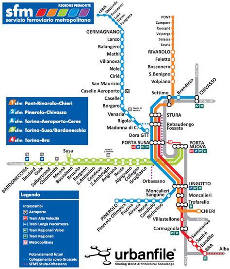 agenzia per la mobilit metropolitana urbanfile torino parte il sistema ferroviario metropolitano