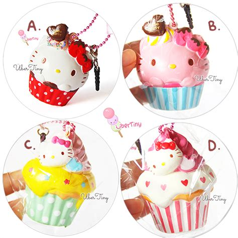 Squishy Licensed Kawaii Mangosteen Fruit Original hello cupcake squishy licensed 183 uber tiny