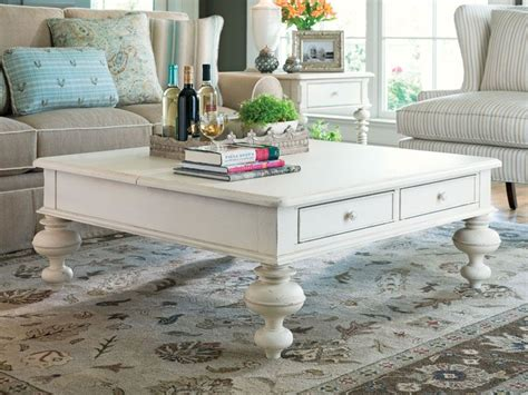 Square Shabby Chic by Square Shabby Chic Coffee Table With Gustavan Style