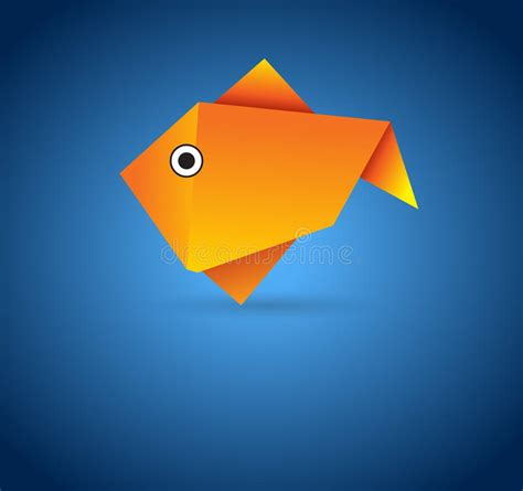 Origami Tropical Fish - origami fish royalty free stock photo image 20932025