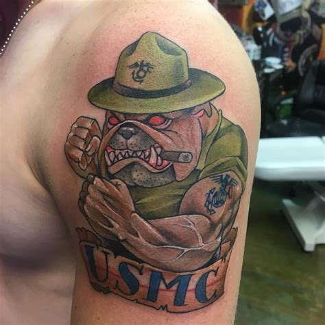 usmc tattoos 75 cool usmc tattoos meaning policy and designs 2019