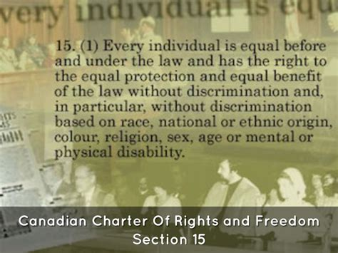 canadian charter of rights and freedoms section 9 assisted death by jaki mitchinson
