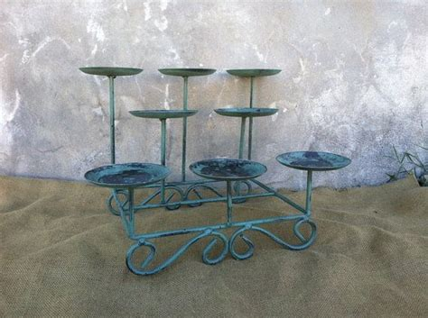 candelabra candle holder fireplace wrought iron