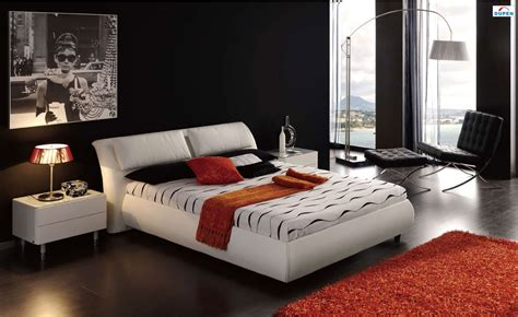 modern leather bedroom sets long lasting leather bedroom furniture