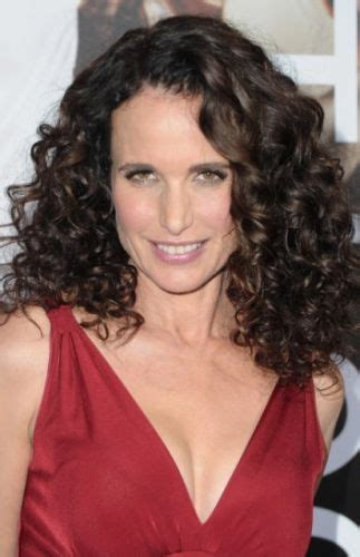 hairy curly brunette 9 andie macdowell hairstyles classic curls best