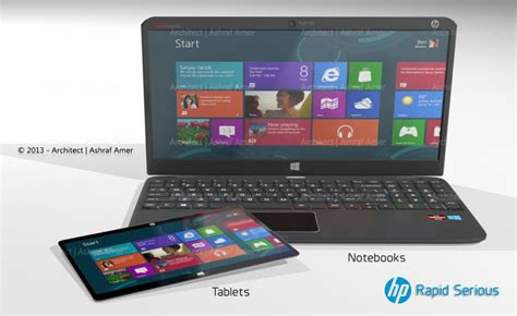 Hp Htc Concept hp rapid tablet and laptop series with amd processor gets