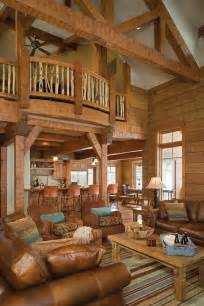 Log Cabin Home Interiors by Dreamy Log Cabins Custom Log Home In Idaho