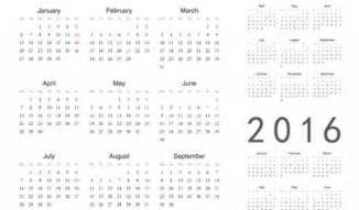 at a glance calendar template yearly calendar at a glance 2016 printable yearly