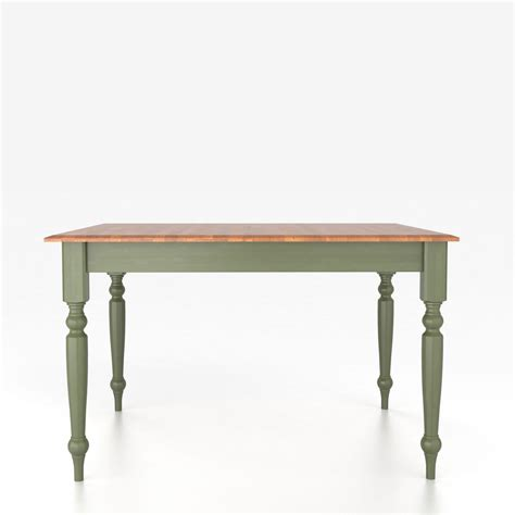 Canadel Kitchen Tables Canadel Custom Dining Tables Customizable Square Table With Legs Dinette Depot Kitchen Tables