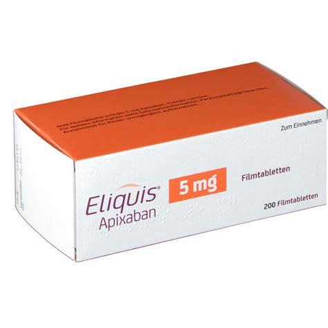 eliquis 5 mg tablet eliquis 5 mg filmtabletten shop apotheke com