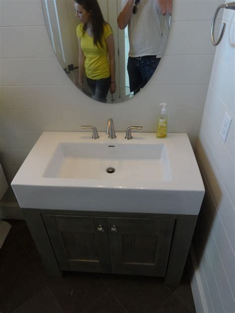 Half Vanity Sink 1000 Images About Half Bath Ideas On Toilets