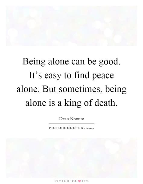 Image result for being alone is good