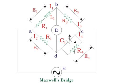 use of maxwell inductance bridge use of maxwell inductance bridge 28 images maxwell s inductance bridge electronics project