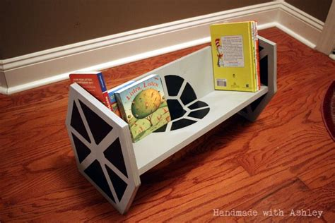 build  star wars tie fighter bookshelf tutorial