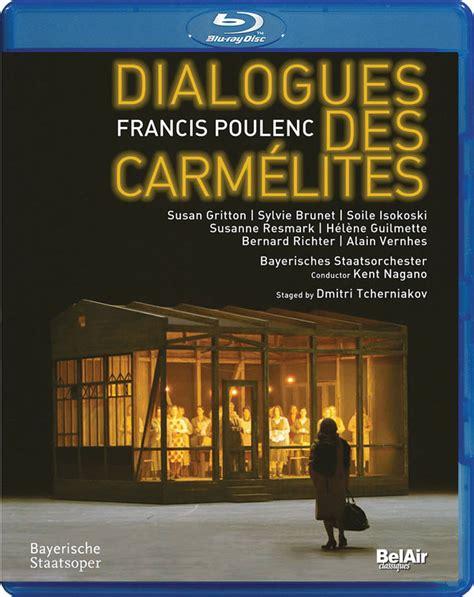 libro dialogues des carmelites discografie dialogues des carm 233 lites