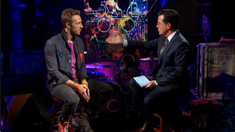 coldplay radiohead watch coldplay on the colbert report under the radar