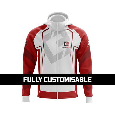 Zipper Hoodie Electronic 03 zip through hoodie custom esports