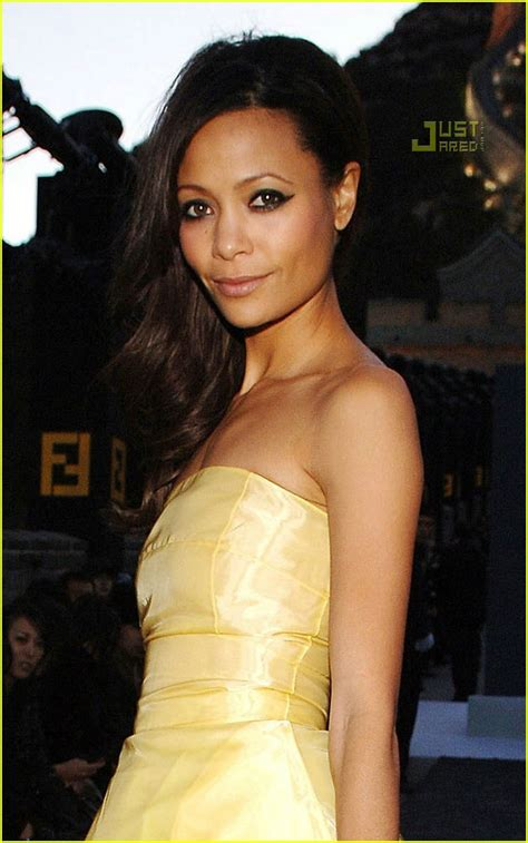 More Pics From Karl Lagerfelds Minogue Thandie Newton And Co by Thandie Newton Great Wall Of China Photo 670271