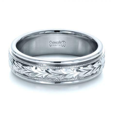 custom engraved wedding band 1213