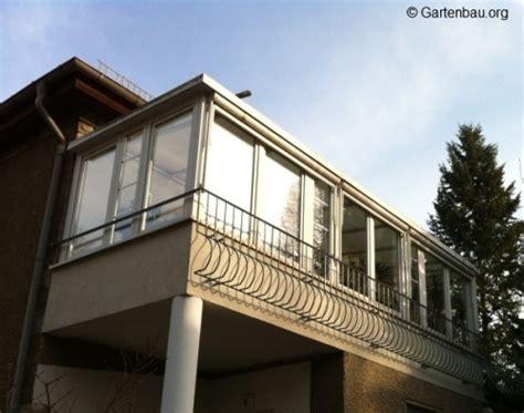 Balkonüberdachung Glas by Balkon Zum Wintergarten Umbauen Beautiful Home Design
