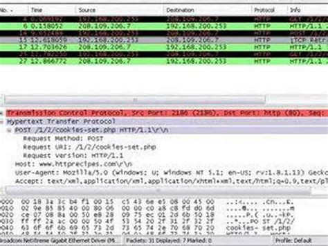 wireshark tutorial cookie cookies and grabbing passwords with wireshark part 2 of 3
