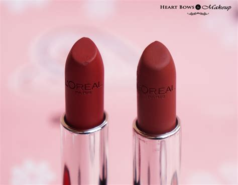 Makeup Loreal l oreal matte lipstick shades philippines the of