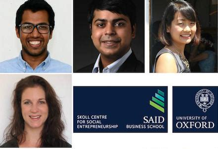 Skoll Mba Scholarships At Said Business School by Skoll Scholarship For Mba Program Of Oxford S