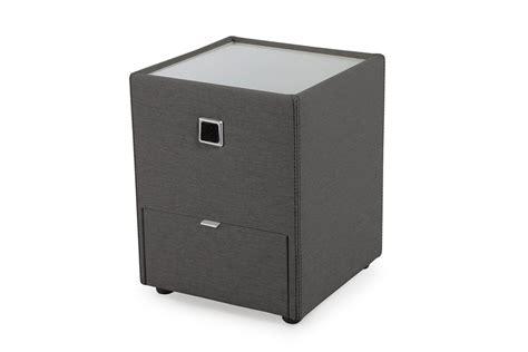 nachtkonsole grau jockenh 246 fer lancy nachtkonsole in grau mit beleuchtung und