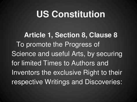 article 1 section 8 clause 9 free speech remix culture