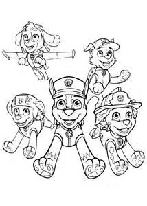 coloriage paw patrol dessin 224 imprimer sur coloriages info