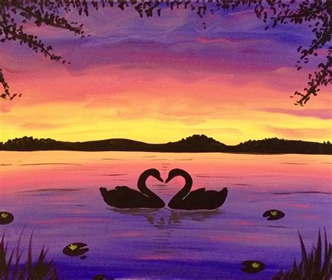 paint nite zukey lake paint nite lake of ii