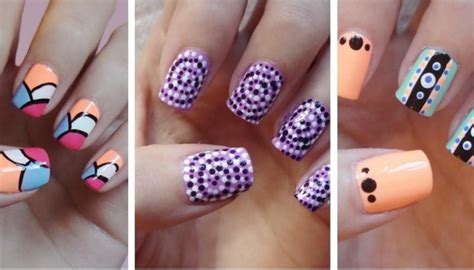 easy nail art pdf decoration ongle simple