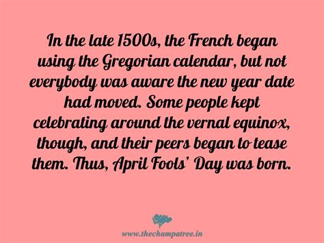 what day history 7 facts and interesting history of april fools day