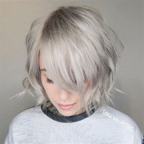 Choppy Hairstyles With Bangs by 60 Choppy Hairstyles For Any Taste Choppy Bob