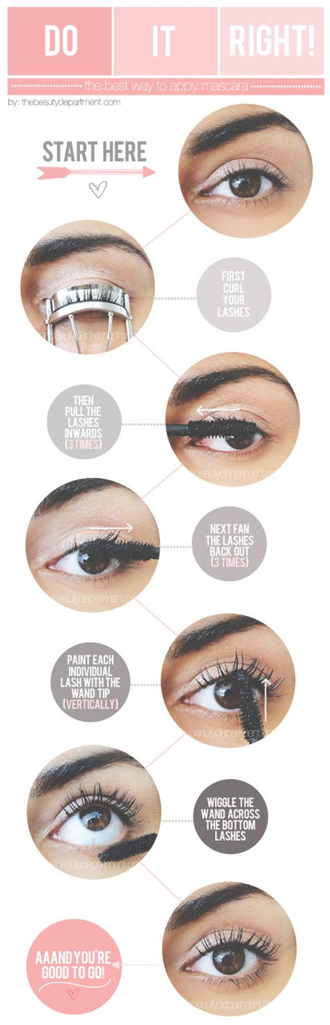 7 Of Applying Mascara The Right Way by The Department Your Daily Dose Of Pretty How To