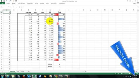 Monte Carlo Simulations In Excel Youtube Monte Carlo Simulation Excel Template
