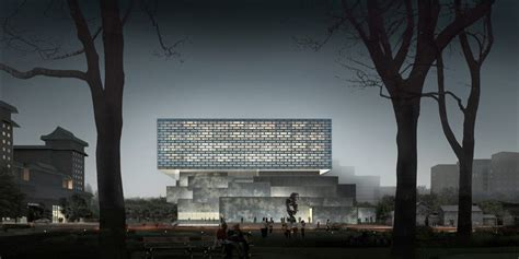 Buro Ole Scheeren Beijing ole scheeren unveils plans for the guardian center in