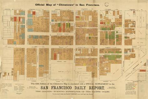 san francisco map of chinatown san francisco chinatown history the the bad and