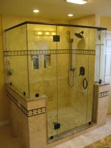 Replace Fiberglass Shower With Tile by Replaced A Fiberglass Stall Removed Parts Of Walls New
