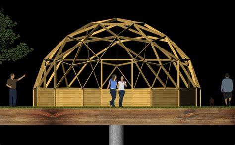 costruire cupola geodetica cupole geodetiche 9 metri