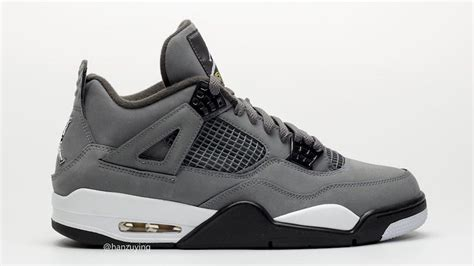 Air 4 Cool Grey Release Date by Air 4 Cool Grey 2019 308497 007 Release Date Sbd
