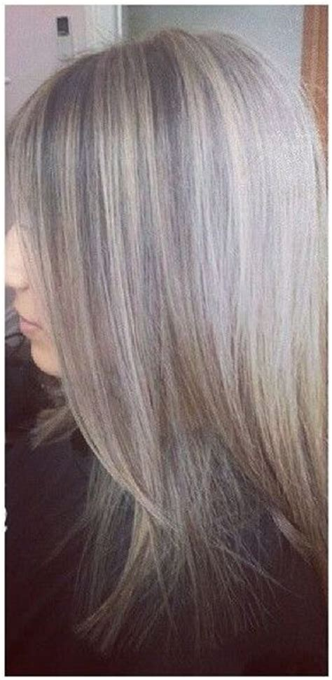 how long does it take for lowlights to fade in blonde hair highlights lowlights transition growing out the gray