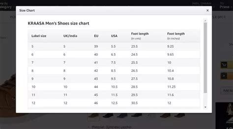 shoe size chart different countries what is the equivalent indian shoe size for a uk size 7