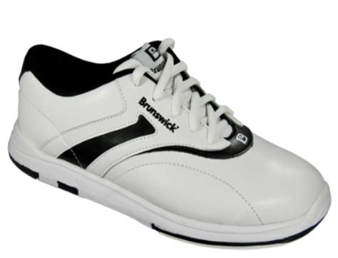 brunswick womens silk white black bowling shoes free