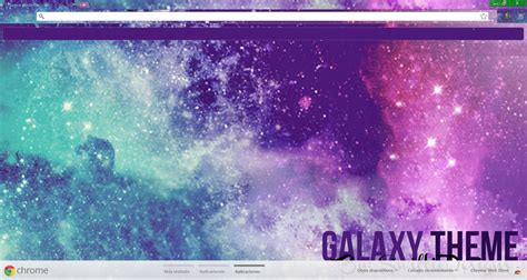 theme google chrome nisekoi galaxy theme para google chrome by swiftiedesigns on