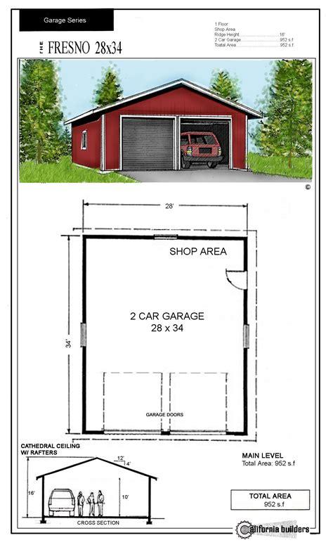 30x30 Garage Plans by 24x32 Garage Kit Studio Design Gallery Best Design