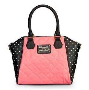 Botol Spray Hello Fullbody Polkadot hello quilted pearls with white polka dots bag on