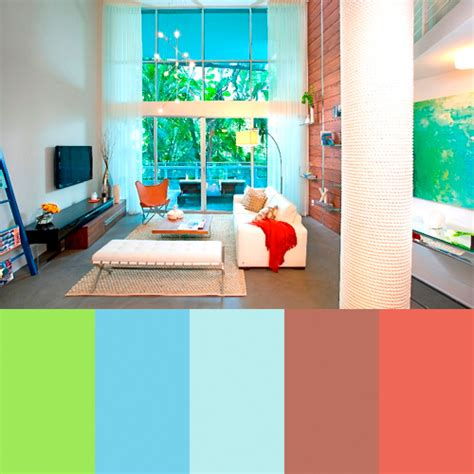 color palettes for home interior zippy color palettes from dkor interiors design milk